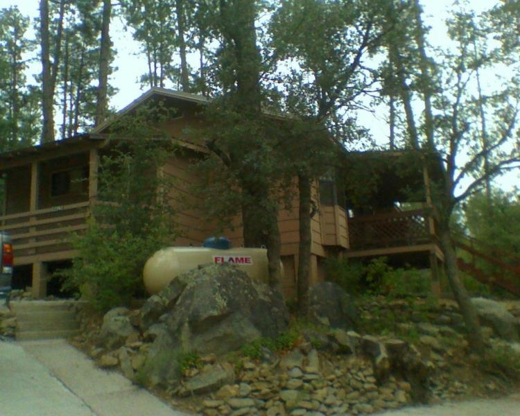 SECLUDED CABIN IN PINES - Image 1 - Prescott - rentals