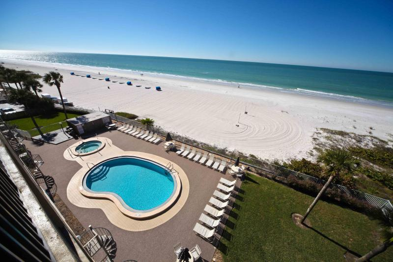 Balcony view - Sand Castle lll 505 - Indian Shores - rentals