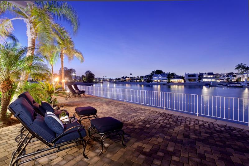 The views from our patio are unbeatable - Private Island Living in Newport Beach! - Newport Beach - rentals