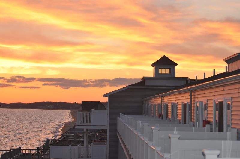 Second floor end unit with lots of privacy and gorgeous sunrises AND sunsets!! - Waterfront Condo on Massachusetts Bay!! - North Truro - rentals