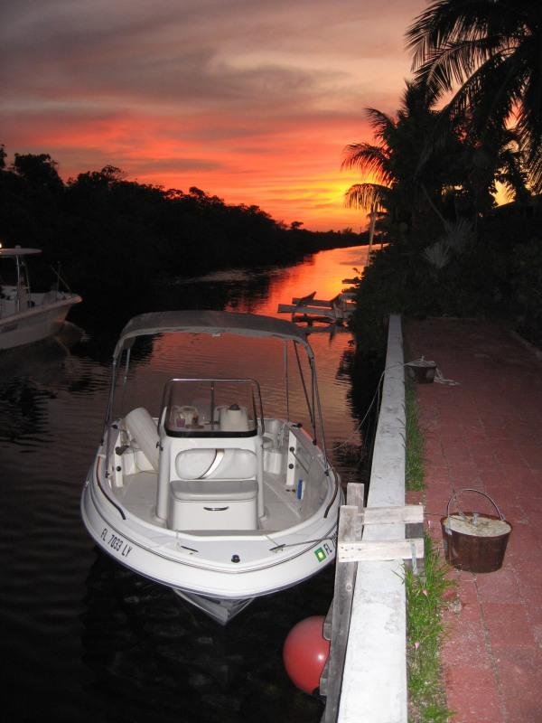 Back of Home on the water - Key West Waterfront Home With Pool (Monthly Only) - Key West - rentals