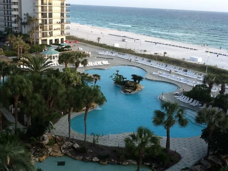 View from balcony,  Renovation in motion.  New photos posted after April 1,215 - Edgewater Beach Resort - Panama City Beach - rentals