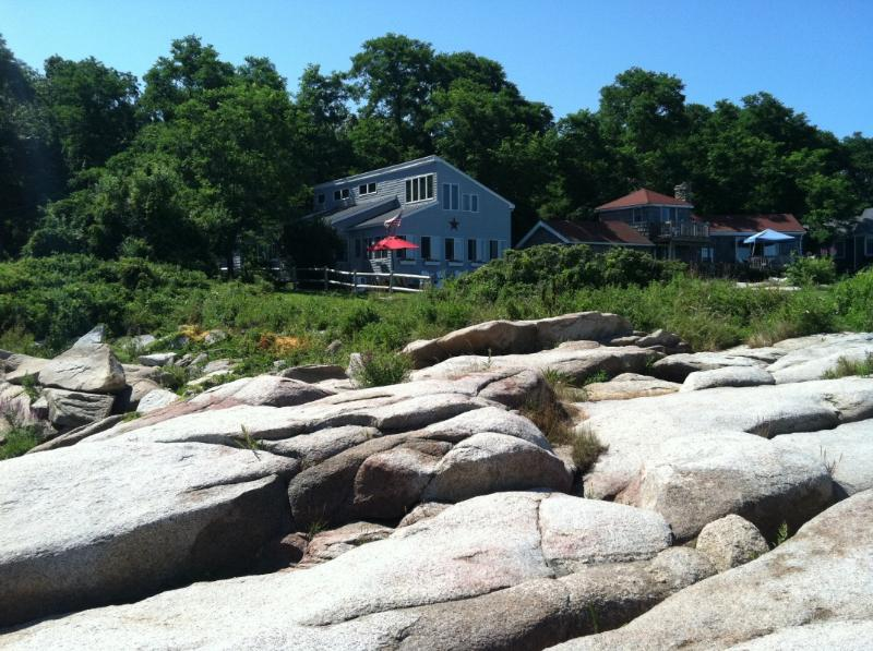 Cottage from the shore - Ocean Front Cottage - Gloucester - rentals