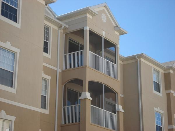 Your 302 Balcony overlooks a Fabulous Courtyard! - Inexpensive 3 Bedroom Windsor Hills Condo with Hot Tub and Sauna - Kissimmee - rentals