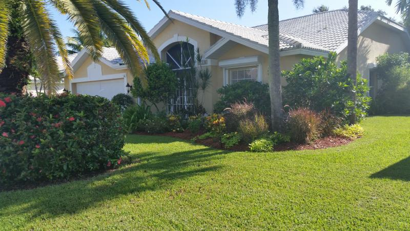 Front View of Home - Private Home Gated Community - Fort Myers - rentals