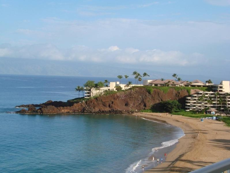 View of Black Rock from your lanai - The Best 2brm/2BA Ocean Front Condo at the Whaler - Ka'anapali - rentals