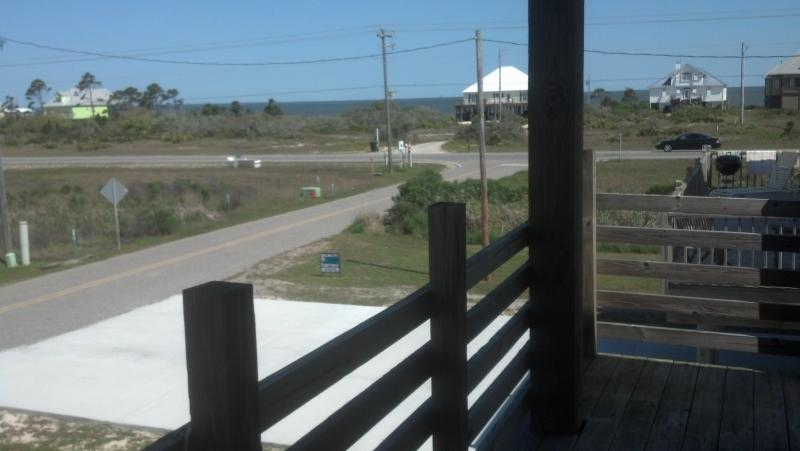 View of Mobile Bay from Front Deck - Tooth & Nail - Fort Morgan - 3 BR / 2 BA - Fort Morgan - rentals