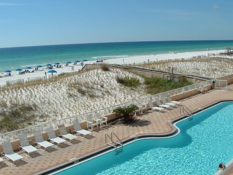 80 Foot Beach Front Pool, heated seasonably. - Beachfront Condo w/Beautiful View*Isl.3005 - Fort Walton Beach - rentals