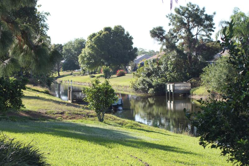 Canal view - Luxury Pool Home backing onto peaceful canal - Rotonda West - rentals