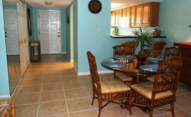Spacious Dining Room - Luxury Condo Ground Floor Across the Street - Siesta Key - rentals