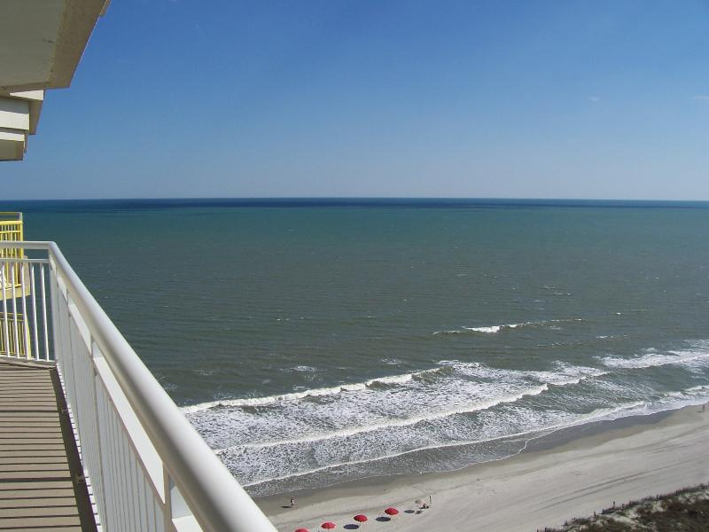 20 Foot Long Balcony with fabulous views!! - EASTER SAVINGS on BAY WATCH Condo - GREAT Views!! - North Myrtle Beach - rentals