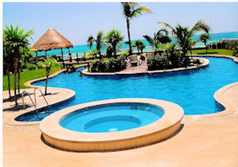 Oceanfront Estate with Private Pool - Image 1 - Cancun - rentals