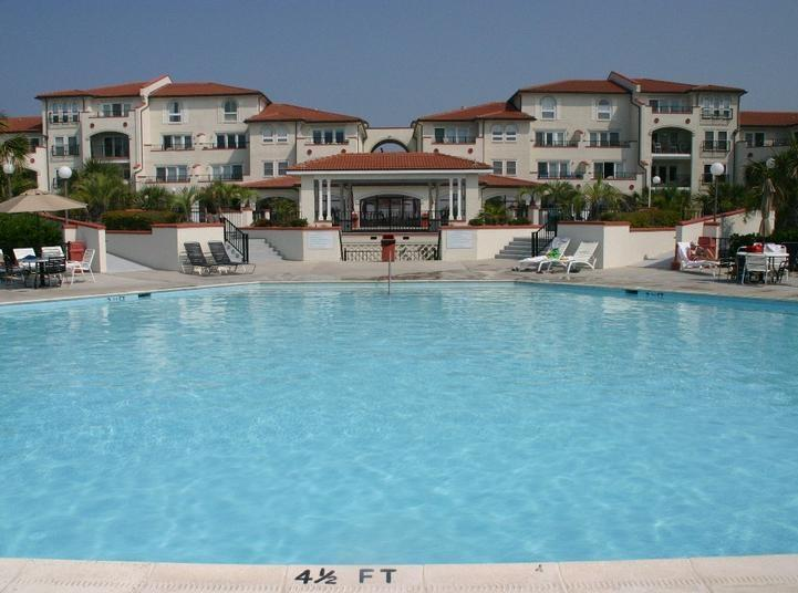 Main pool is awesome! - Oceanfront 3BR/3BA Villa Capriani - North Topsail Beach - rentals