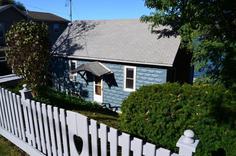 The cottage exterior was repainted in 2015! - Autumn Stays Still Available! - Keuka Lake - rentals