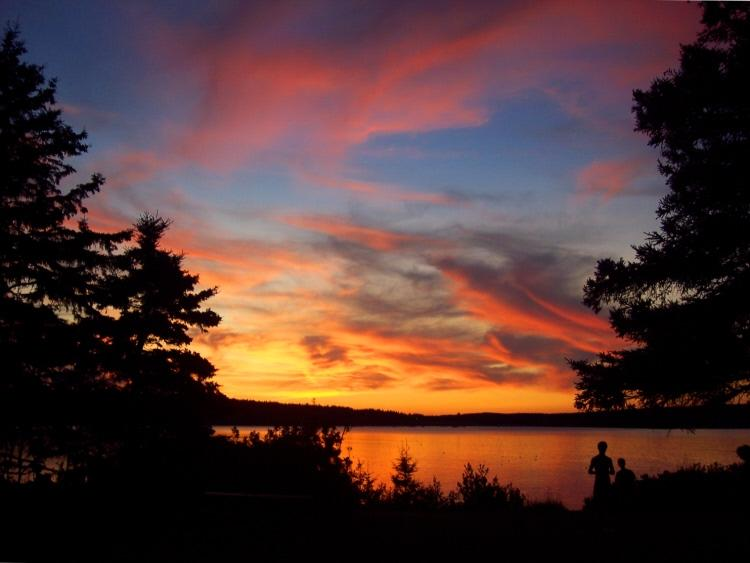 Sunset over the harbor - Winter Harbor @ Acadia National Park - Winter Harbor - rentals