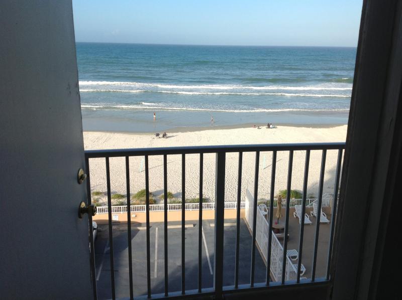 Ocean front view - Daytona Beach Ocean Front Getaway - Daytona Beach - rentals