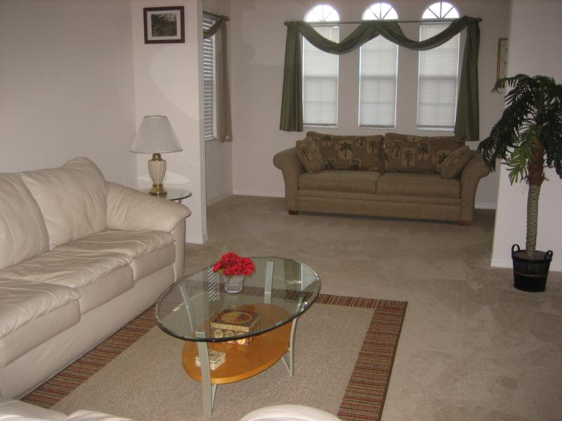 Living room view - New, Mediterranean Style 2 Bed /2 Bath Condo - Fort Myers - rentals
