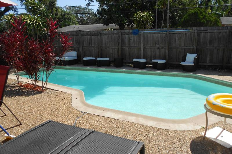 Pool Area - Downtown Pool Home w/Hottub Lauderdale - Fort Lauderdale - rentals