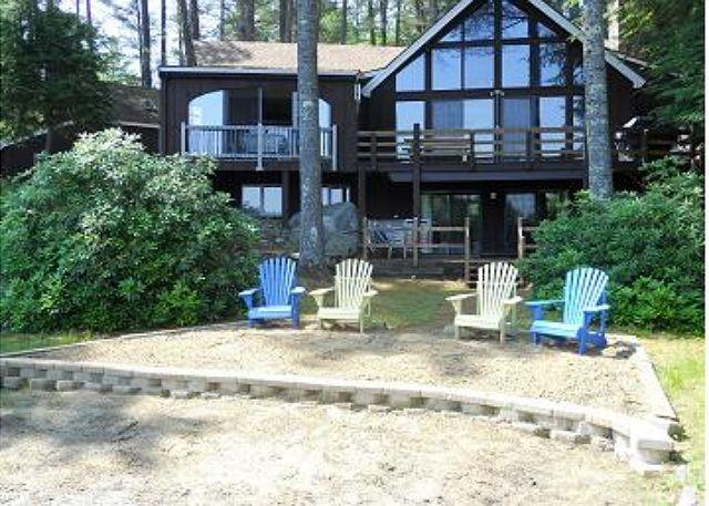 Winnipesaukee Wtrfront For 12 w/SAND BEACH - Image 1 - Moultonborough - rentals