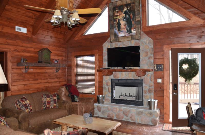Moose Creek Great Room - Amazing 3 bd 3 bth cabin hottub,fireplace SPECIALS - Branson - rentals