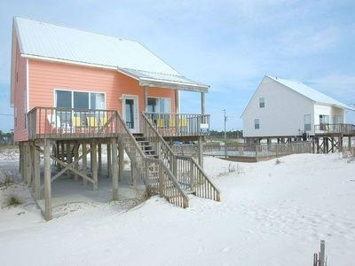 Summer Wind is beach front and next to the pool. - Summer Wind is Beach Front, Pool, Wifi - Fort Morgan - rentals