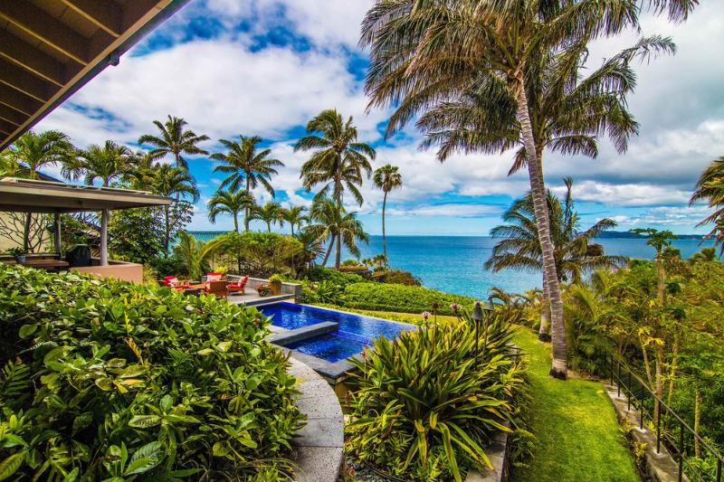 View from Master Bedroom Lanai - New! 'the Most Beautiful Home I've Ever Seen' - Honolulu - rentals