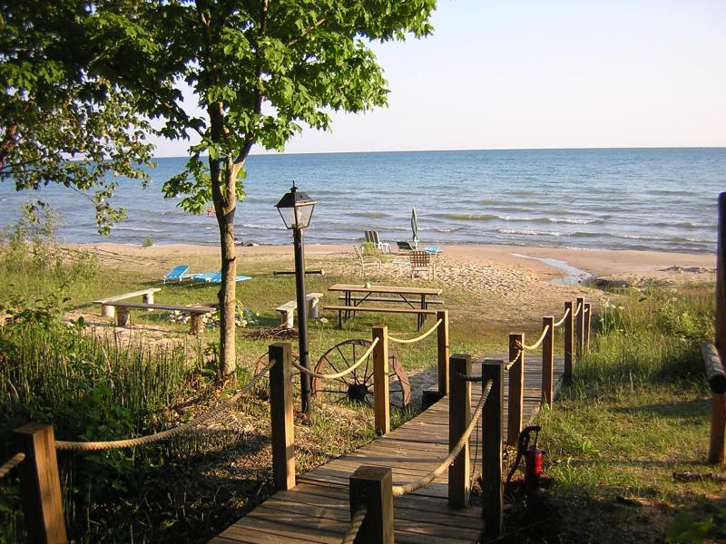Beach house on Lake Michigan - Image 1 - Mackinac County - rentals