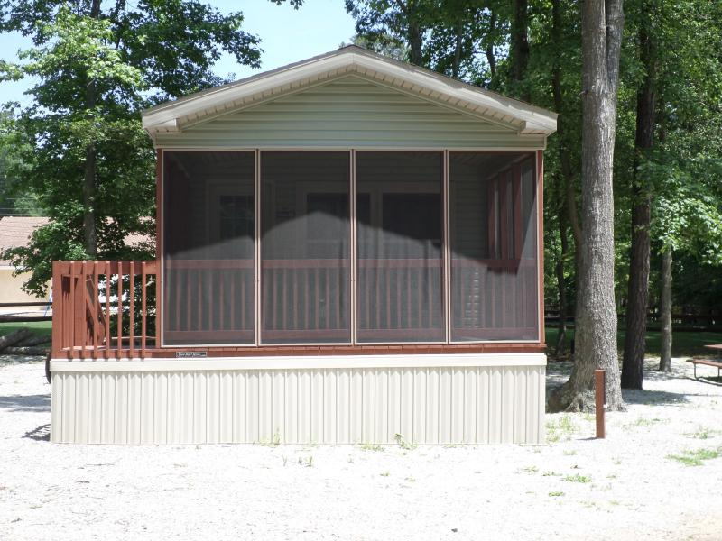 New 2 Bedroom Cottage on Family Campground! - Image 1 - Cape May Court House - rentals