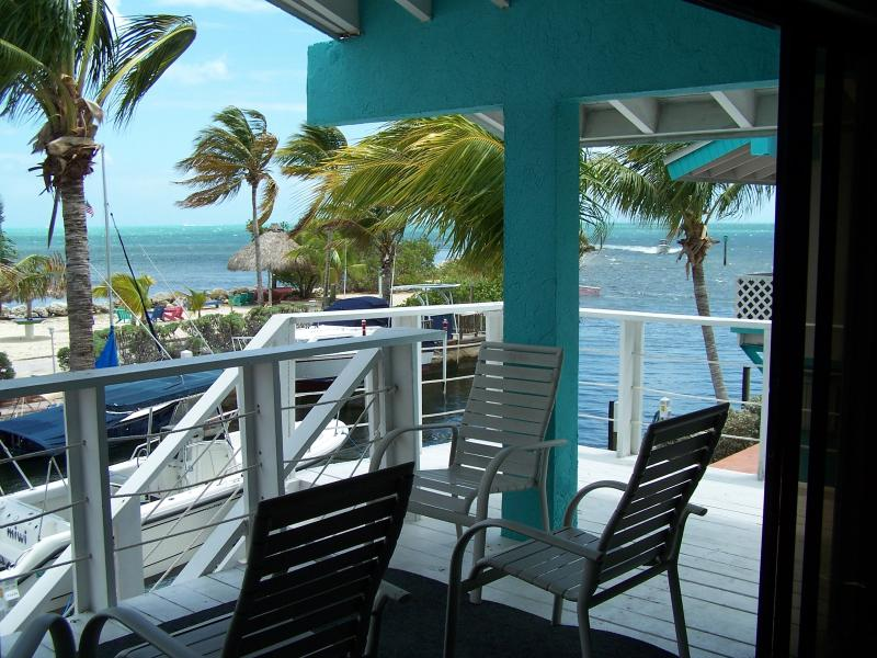View from the balcony - Key Largo Ocean Front Villa with Incredible views - Key Largo - rentals