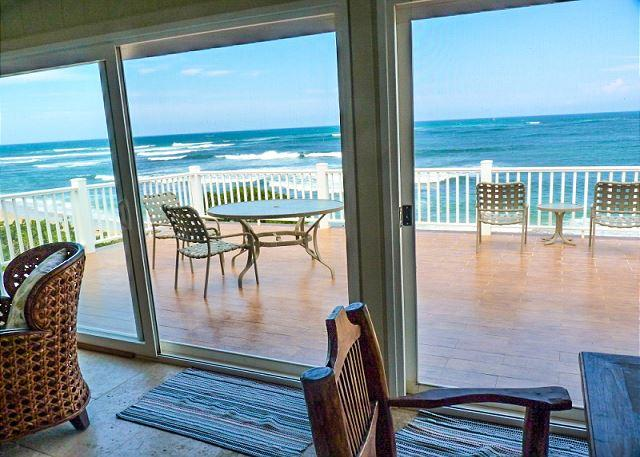 Waverider Beach Bungalow - oceanfront home - Image 1 - Haleiwa - rentals