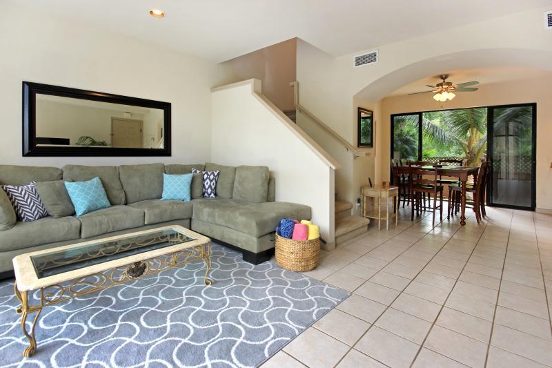 spacious living room!  - Napili Gardens Getaway- Last Minute Special! Short walk to the beach! Has AC! - Lahaina - rentals