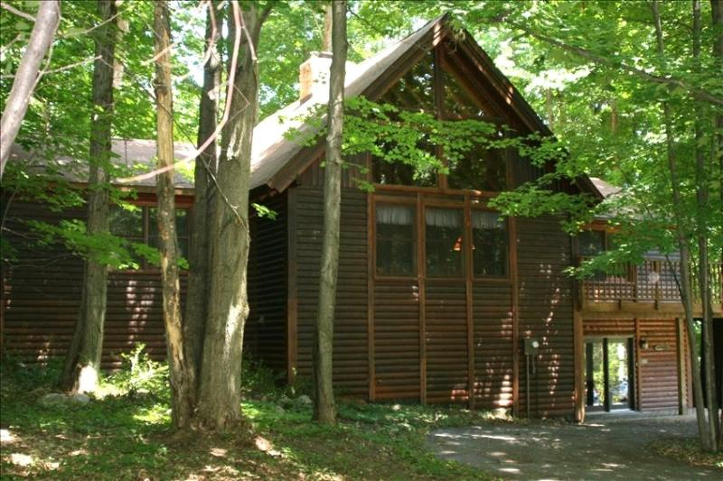 Crystal Mountain 6 Bedroom 3 Bath Log Cabin - Image 1 - Thompsonville - rentals