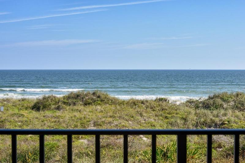 Literal view from balcony!!! - SPECTACULAR & GORGEOUS StAugustine Oceanfront Condos, Crescent Beach Florida!!!! - Saint Augustine Beach - rentals