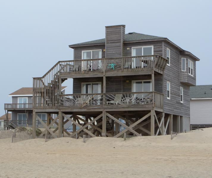 Old Nags Head Style Charm - Beautiful Oceanfront Home - Panoramic Views! - Nags Head - rentals