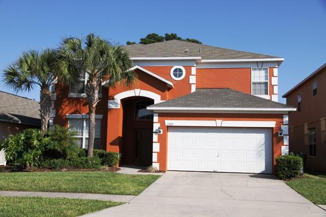House Front - Disney 7 BR @ Emerald Island, Free wi-fi, Pool/SPA - Four Corners - rentals