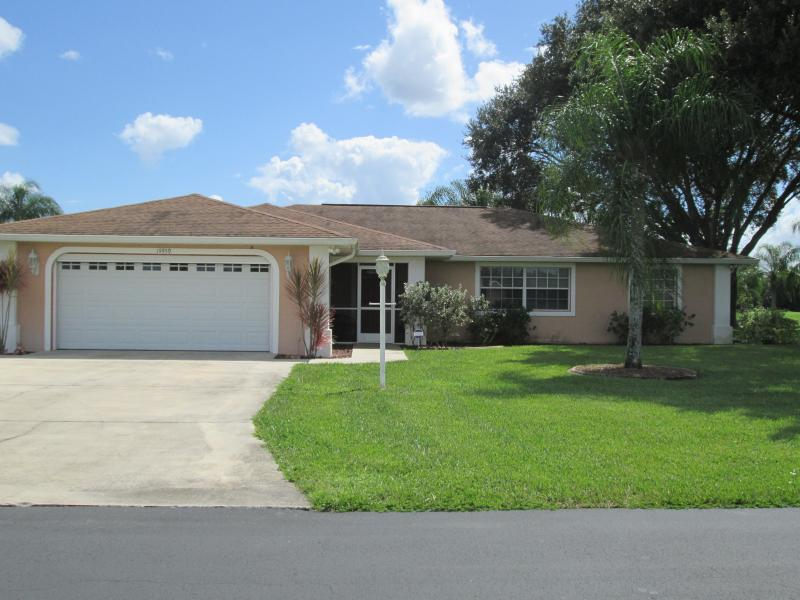 front of house - Prestige Golf Course - Lehigh Acres - rentals