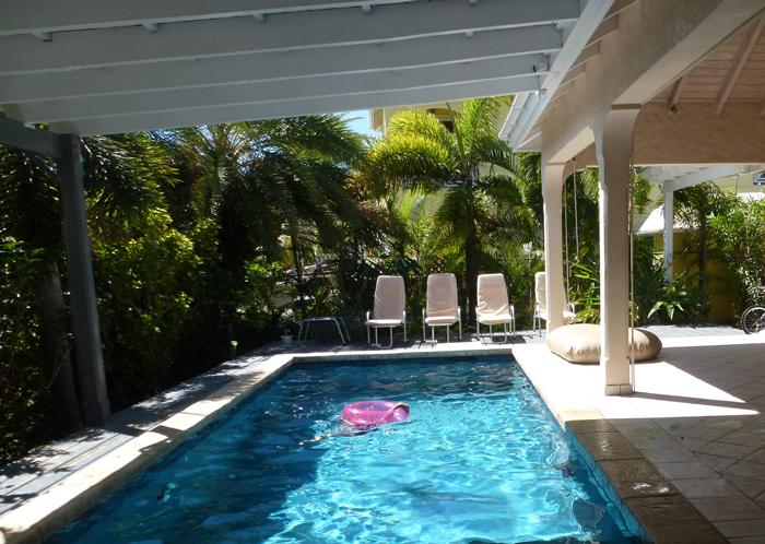 fun-time in your own pool - Caribbean style, with lovely small garden & pool - Jolly Harbour - rentals