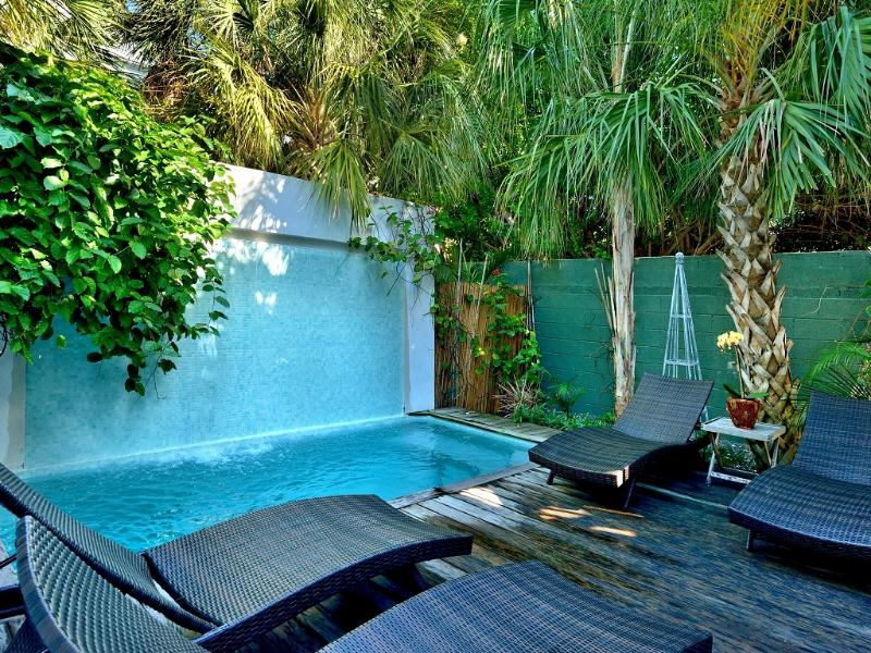 Penthouse #1 of 2 pools with waterfall - Key West Duval Street Compound - Key West - rentals