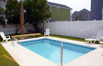 Private pool and hot tub - Steps to the beach/private pool/ 10% off April May - Surfside Beach - rentals