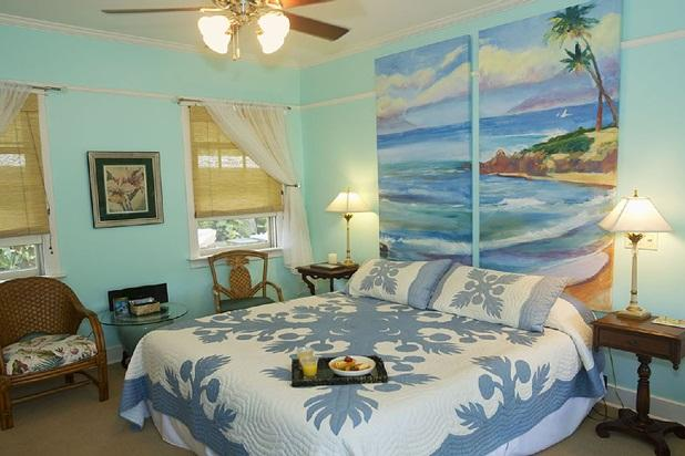 Orchid Room - Iao Valley Inn; Paradise on 37 Tropical Acres; - Wailuku - rentals
