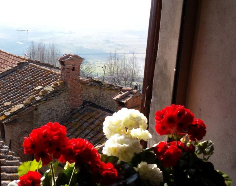 Breathtaking Views in Historical Centre of Cortona - Image 1 - Cortona - rentals