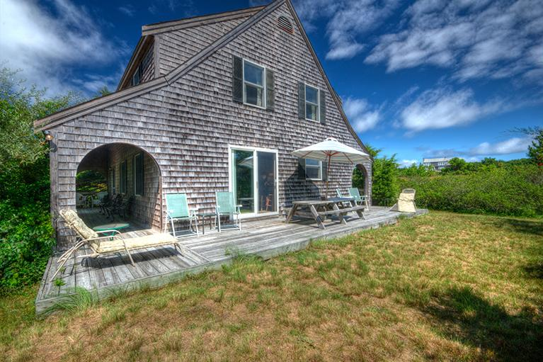 South Side Deck - Knowles Heights Beach House - Truro - rentals