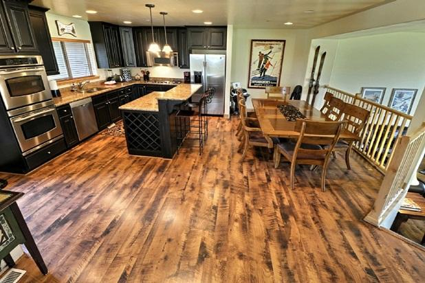 Gourmet Kitchen with Dining Bar and Dining Table - Luxury New Townhome; Gourmet Kitchen & Hot Tub - Park City - rentals