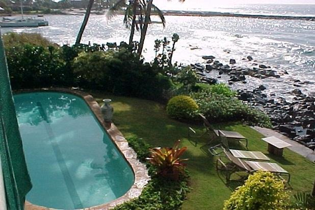 Ocean Front Pool just 20' from the waters edge - Hale Hokuu T00 - Poipu-/Ocean Front/AC/Spouting Ho - Koloa - rentals