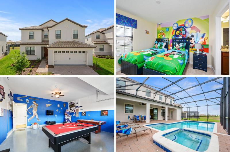 Beautiful Orlando villa w/Pool & Games -1439 - Image 1 - Citrus Ridge - rentals