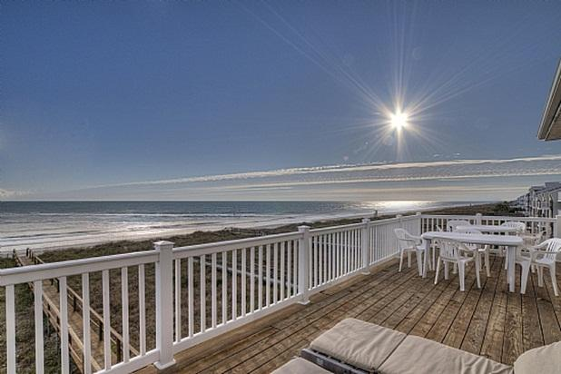 YOUR SUN DECK & YOUR SPECTACULAR VIEW - TRANQUILITY VILLA - 6 BED - Carolina Beach - rentals