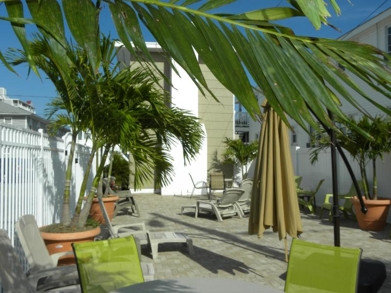 Courtyard for relaxation - Property #199862 - basic - Ocean City - rentals