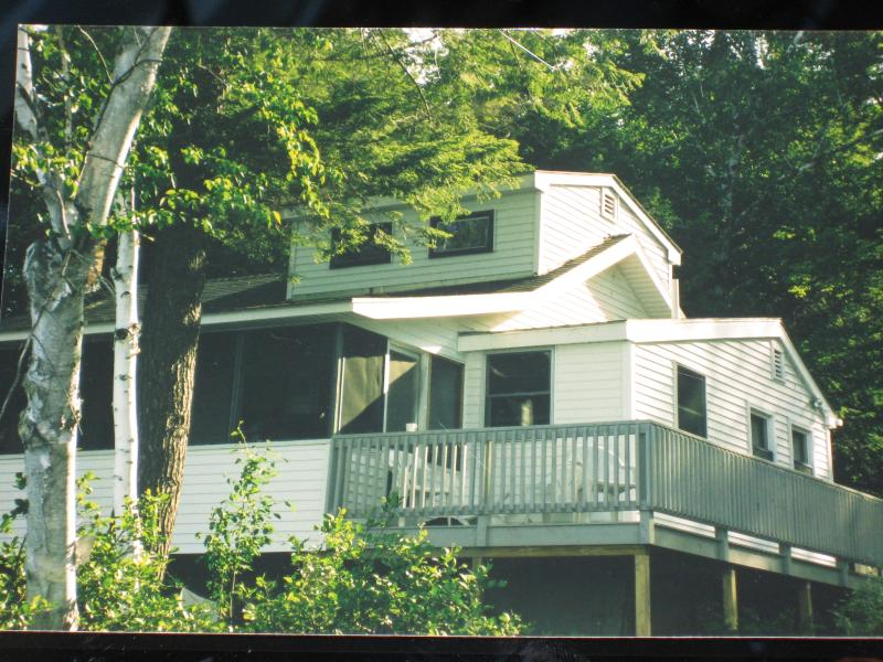 Lake House - Waterfront Lake Winnipesaukee Cottage - Mirror Lake - rentals