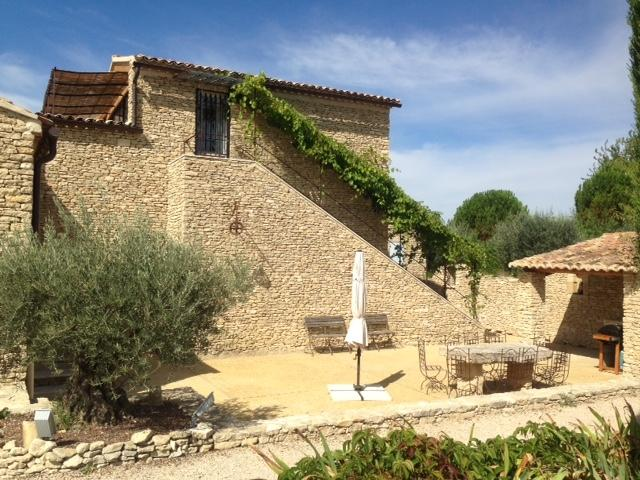 Large stone house,inside heated pool+infiniti out - Image 1 - Gordes - rentals