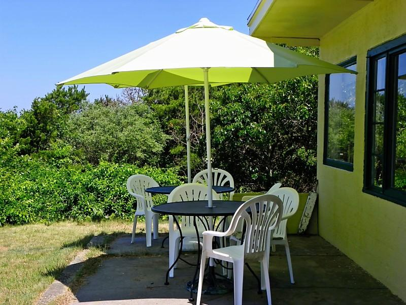 BEAUTIFUL VIEW FROM THE FLORIDA PATIO - Property #206294 - The Florida House - Wellfleet - rentals